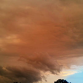 Dramatic Sunset 7/20/19 by Ally White