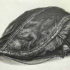 Drawing of a Leather Cap  by Lavender Liu
