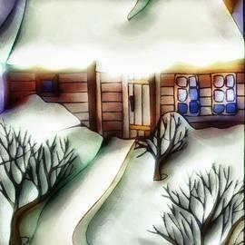 Dreamy Winterscape by Mario Carini