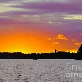 Drifting Away on the Lake by Ann Brown
