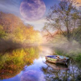 Drifting in Moonlight by Debra and Dave Vanderlaan