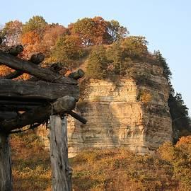 Driftless Area Wisconsin in Autumn by Rosalie Millen
