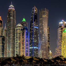Dubai Marina by Jeroen Kleiberg
