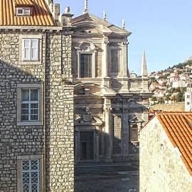 Dubrovnik Croatia Church of St. Ignatius by Jasna Dragun