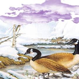Winter at the Lake by Belinda Threeths