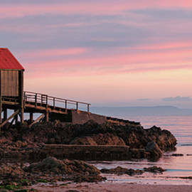 Dunaverty Lifeboat Station by Dave Bowman
