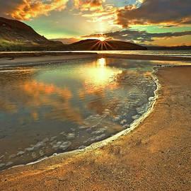 Dunree Sunset by Derek Smyth