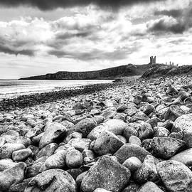 Dunstanburgh Castle Northumberland Coast by Paul Thompson