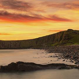 Dunstanburgh Castle Sunrise by Dave Bowman
