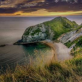 Durdle Door Headland by Chris Boulton