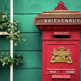 Dutch Postbox by Dave Bowman