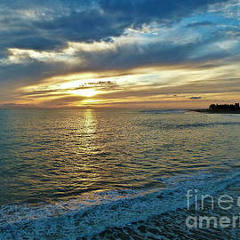 Early Evening Sunset  by Julieanne Case