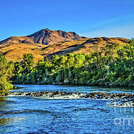 Early Fall View Of Squaw Butte by Robert Bales