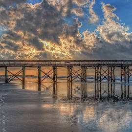 Early Morning Footsteps by Steve Rich