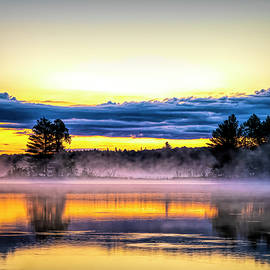 Early Morning Lake Life by Todd Reese