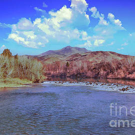 Early Spring View Of Payette River by Robert Bales
