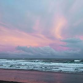 Early Sunset north of Cannon Beach by NaturesPix