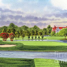 East Lake Golf Course Atlanta GA 15th Hole by Bill Holkham