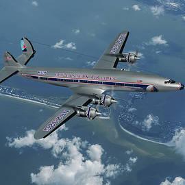 Eastern Air Lines Super Constellation by Erik Simonsen