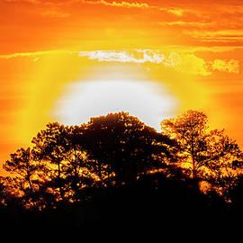 Eastern Carolina Sunrise - September 15 2021 by Bob Decker