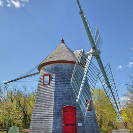 Eastham Mill at the Windmill Green and Bandstand by Juergen Roth