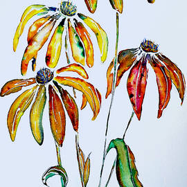 Echinacea Contemporary by Barbara Chichester