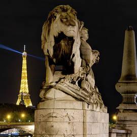 Eiffel and Lion by Weston Westmoreland