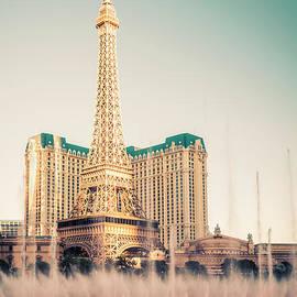 Eiffel Tower Paris Las Vegas by Bryan Mullennix