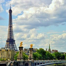 Eiffel Tower Paris by Paul Thompson