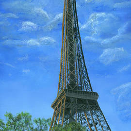 Eiffle Tower Painting by Timothy Hacker