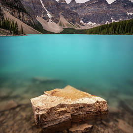 Electric Blue Moraine Lake by Pierre Leclerc Photography