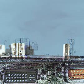 Electronics City #1 by Kae Cheatham