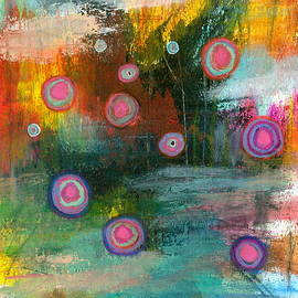 Elements of Change 2 Abstract Landscape by Itaya Lightbourne