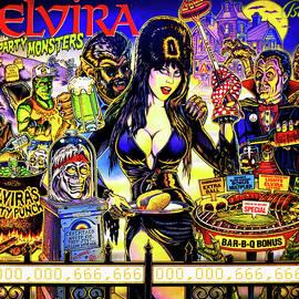 Elvira Party Monsters by Pat Turner