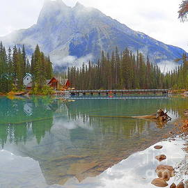 Emerald Lake Canada  by Art Sandi