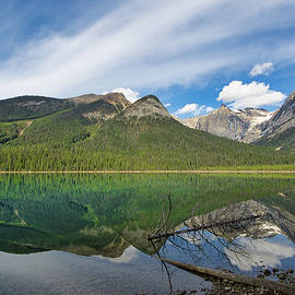 Emerald Lake Reflections by Allan Van Gasbeck