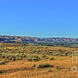 Emmett Valley From Squaw Butte Road by Robert Bales