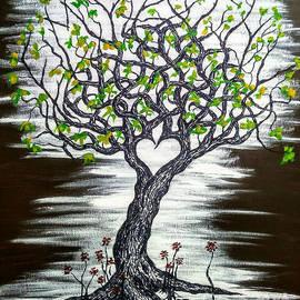 Empathy Love Tree w/ foliage by Aaron Bombalicki