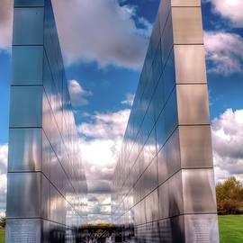 Empty sky memorial 9-11 by Geraldine Scull