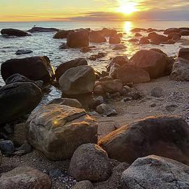 Enbouldered Sunset by Christina McGoran