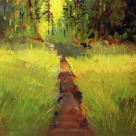 Enchanted Hike by Nancy Merkle