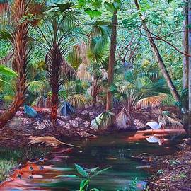 Enchanted Stream by AnnaJo Vahle