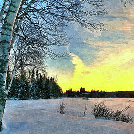 End of a Winter's Day by Denise Dundon
