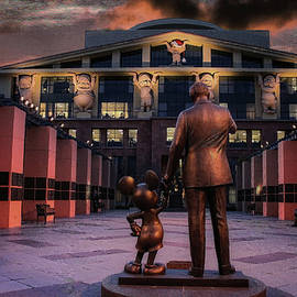 End of the Day at Disney Studios by Tommy Anderson