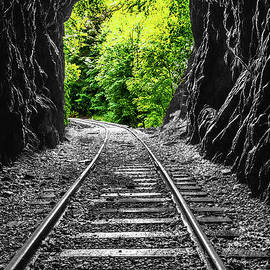 End Of The Tunnel by Pat Turner
