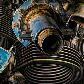 Engine Collage by Susan Hope Finley