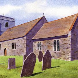 English Churchyard by Michael Baker