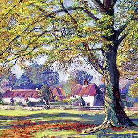 English Village by David Lloyd Glover
