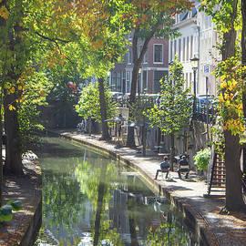 Enjoying the September sun at Utrecht by Juergen Hess