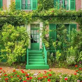 Entrance To Claude Monet's Home, Giverny 2 by Liesl Walsh